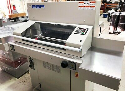 EBA 550 Guillotine - Used but in excellent working condition