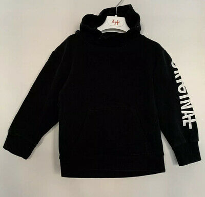 Boys River Island Age 5 - 6 Years Hoodie Black Pullover Kangaroo Pouch
