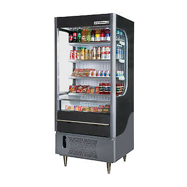 Beverage Air VM7-1-G-LED Open Refrigerated Display Merchandiser