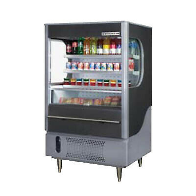 Beverage Air VM7-1-B-LED Open Refrigerated Display Merchandiser