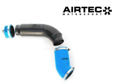 AIRTEC Ford Focus RS Mk3 High Flow Induction Pipe Black and Silicone joiners