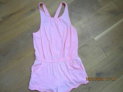 Zara girls baby pink all-in-one Age13/14