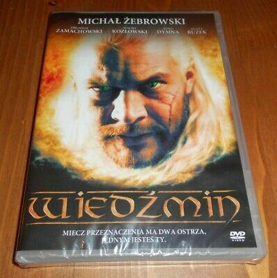 The Witcher - The First Movie From 2001 Vintage Polish Fantasy Film Dvd