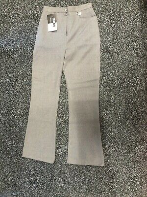 Zeco Girls School Trousers - Grey - Age 13 - New!