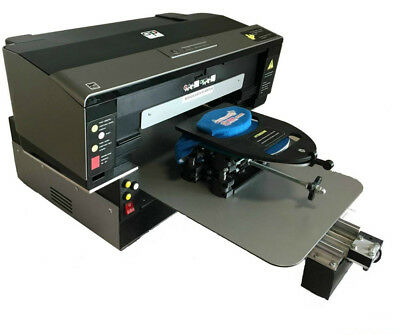 Direct To Garment Textile Printer Print All Over Flatbed DTG 32x50cm + 6 Colours