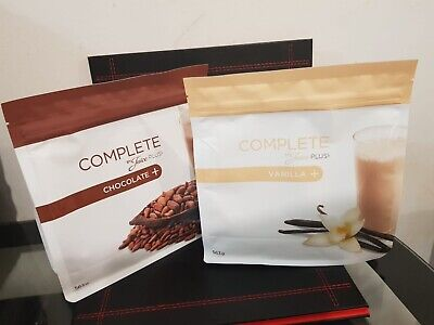 2x JUICE PLUS COMPLETE VANILLA & CHOCOLATE SHAKE BRAND NEW AND IN DATE