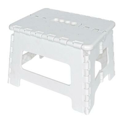 Plastic Multi Purpose Folding Step Stool Home Kitchen Easy Storage Foldable