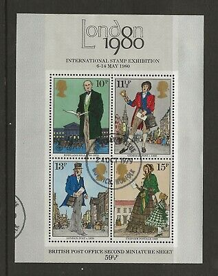 GB Lot 48 - 1979 - MS1099 - Death Centenary of Sir Rowland Hill - Special p/m
