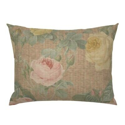 Floral Victorian English Chic Spring Summer Decor Flower Pillow Sham by Roostery