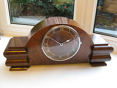 Large Art Deco Westminster / Whittington Chime mantle clock, spares or repair.