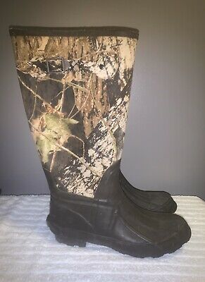 Brahma Tall Camo Waterproof Duck Boots Snow/Rain/Mud/Muck Fishing Hunting Size 9