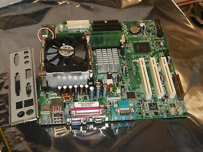 ASUS CUV4X-D MOTHERBOARD WITH 1GB MEMORY /& 2X SL4MF CPU