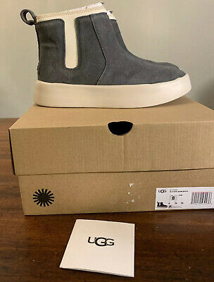 Ugg Classic Boom Bootie Charcoal Woman's  1104614 Size 8 Authentic Brand New