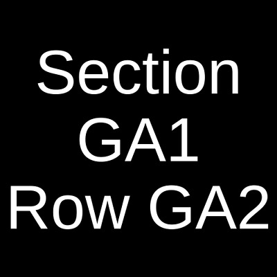 4 Tickets Excision 3/7/20 1stBank Center Broomfield, CO