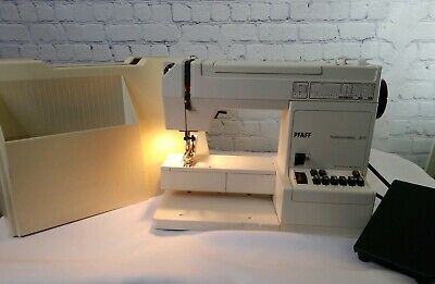 Pfaff Hobbymatic 917 Sewing Machine Made In West Germany PARTS ONLY Not Tested