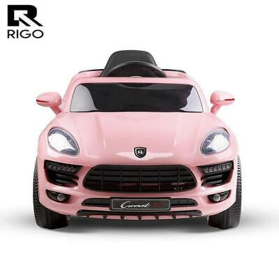 RETURNs Rigo Kid Ride On Car Battery Electric Toy Remote 12V Pink Cars Children