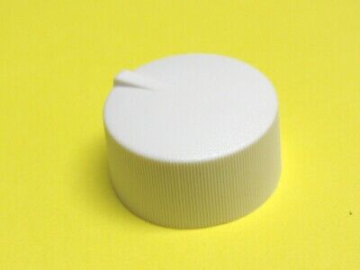 White D-Shaft Russound Knob 26X15mm /& Wall Plate for Volume Control 5 M/&S