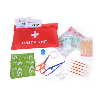 Small First Aid Kit Medical Safety Travel Sport Home Office Car Emergency K IU