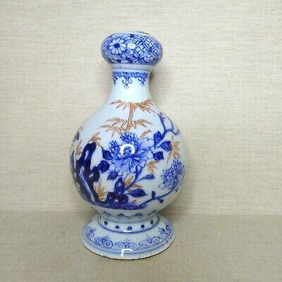 Antique Chinese vase from porcelain, 18th-19th century.