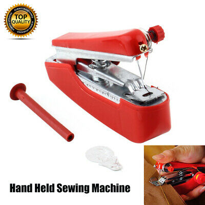 Mini Portable Handheld Cordless Sewing Machine Hand Held Stitch Clothes Home AU