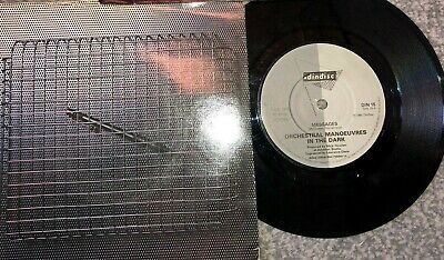 """Orchestral Manoeuvres In The Dark ''Messages'' 1980 Picture Sleeve 7 """" Record"""