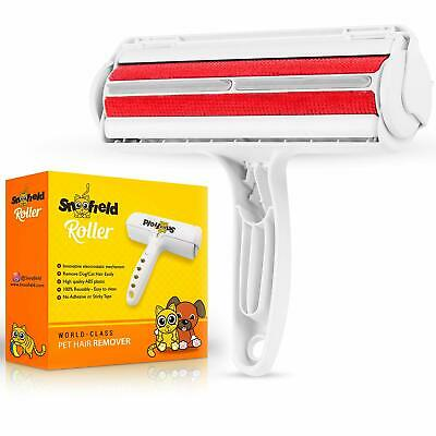 Snoofield Brosse Rouleau Anti Poils Animaux Chat Chien Ramasse Poils Nettoyage