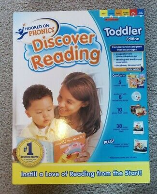 Hooked On Phonics - Discover Reading -  Toddler Edition - Full Set - NIB
