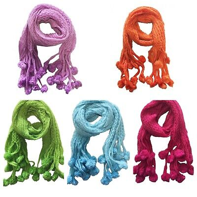 Warm Winter Scarf -Thick Knitted with Bubble-ladies/Girls -High Quality &Luxury
