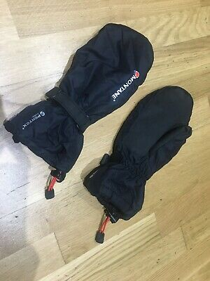 Buffalo Pertex Pile Mitts Black GLV198