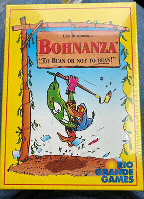 NEW | Bohnanza: Bean Card Game by Rio Grande Games | FREE SHIPPING