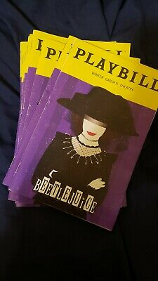 Special! Beetlejuice Broadway January 2020 Exclusive Playbill with Lydia