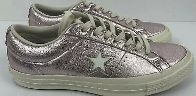 Details about Converse Womens One Star Ox Parkway Floral Canvas PinkEgret 262822C Sizes 8 9