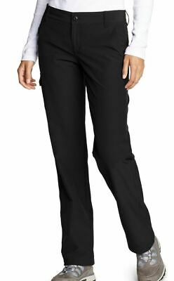 NEW Women's Eddie Bauer Star Ridge Fleece-Lined Pants NWT Size 6 and 2 Black