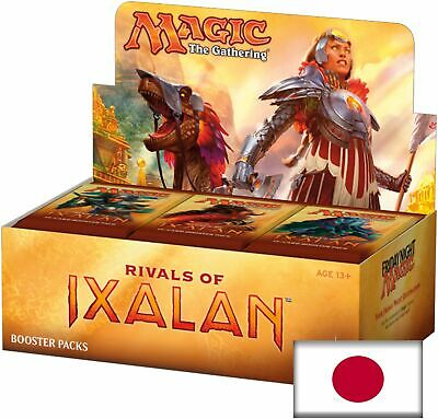 MAGIC RIVALS OF IXALAN BOOSTER BOX JAPANESE FREE SAME DAY PRIORITY SHIPPING