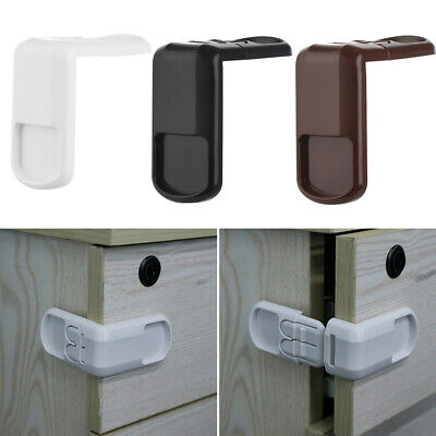 Drawers Baby Safety Lock Children Protector Right Angle Wardrobe Door