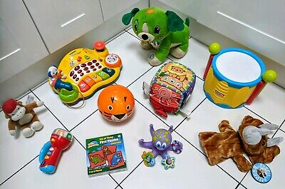 Baby Toddler 12 months + toy bundle Vtech Little Tikes Leapfrog Nuby