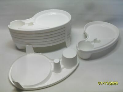 LOT OF 8 Debbie Meyer/'s Smart Buffet Tray Cup//Utensil Holder Pick Your Color