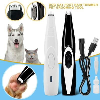 Dog Cat Hair Trimmer Pet Grooming Tool Electrical Hair Cutter USB Rechargeable