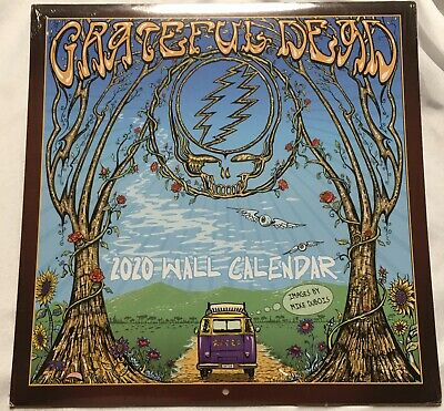 Grateful Dead 2020 Wall Calendar Official New Sealed Art By Mike Dubois
