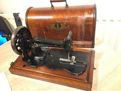 1888 Antique Singer 12K fiddle base handcrank sewing Machine
