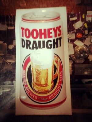 Vintage Original unused Tooheys Draught Beer Can Sticker Decals