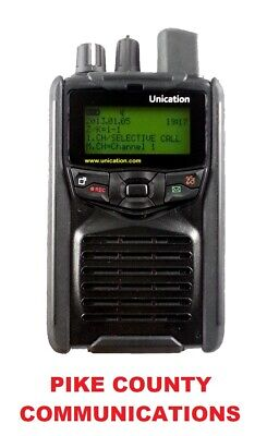 Unication G1 Vhf Uhf Low Band Pager Receiver Scanner With Charger Brand New!!