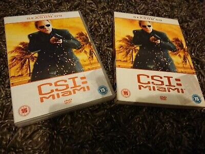 C.S.I. Crime Scene Investigation - Miami - Series 9 -Complete (DVD, 2012, 6 Disc