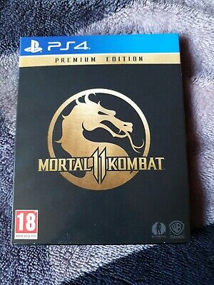 Mortal Kombat 11 steelbook edition (2019, PS4)