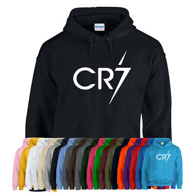 CR7 HOODIE Hoody Ronaldo Forza Football Soccer Christiano Adults Kids Gift NEW
