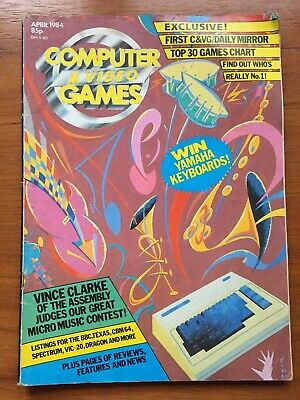 Computer and Video Games (CVG) Magazine #30 1984 (Good/Very Good)