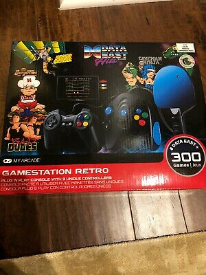 Data East Hits My Arcade Gamestation Retro Plug 'n Play over 300 Video Games NEW