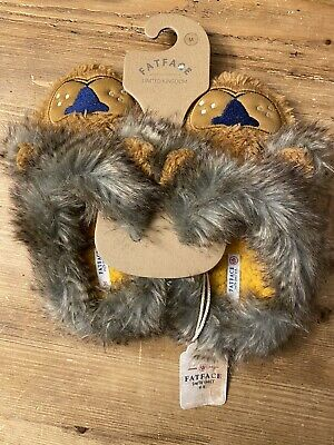 Fat Face Kids Slippers (size M/ 33-35)