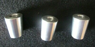 """10 QTY NEW1.00/"""" Beer Tap Ferrule Tapered 5//16/""""-3//8/""""Threaded Hole"""