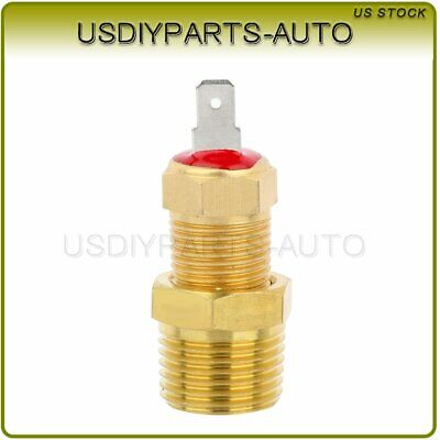 """Gold 185 To 175 Degree Engine Cooling Fan Thermostat Temperature Switch 3//8/"""" AP"""